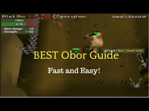OSRS Boss - Obor Guides - OSRS Best in Slot