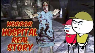Horror Hospital Real Story # 1 | Horror Story (ANIMATED IN HINDI) Make Horror Of