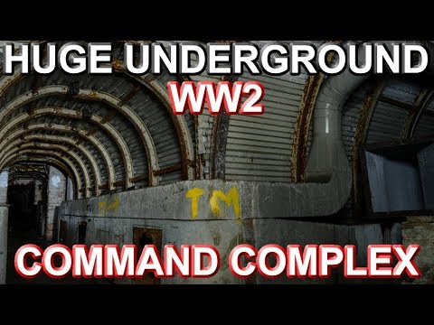 Found Huge Underground WW2 Command Complex (Things Left Behind)