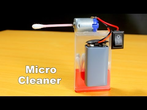 How To Make Electric Cleaner At Home - Very Simple