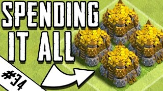 SPENDING ALL MY GOLD - ALMOST MAX | ROAD TO MAX TH9 EP.34 | Clash of Clans