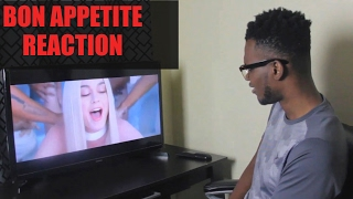 Katy perry - bon appétit    reaction video