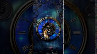 [Samsung Theme-Live Wallpaper] Fantasy Clock Leopard