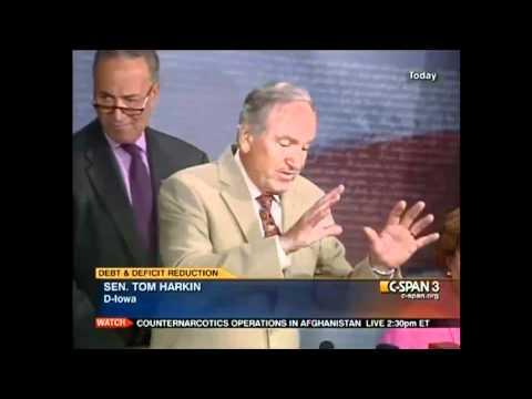 """Sen. Tom Harkin: Tea Party """"Cult Fringe"""", GOP """"Dead-Beat-Debtors"""""""