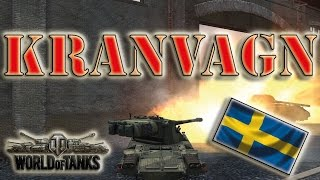 World of Tanks /// Kranvagn - High Caliber, 6000+ Damage
