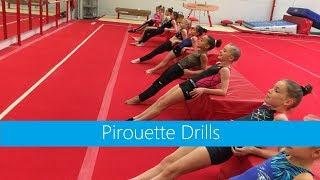 Pirouette Drills