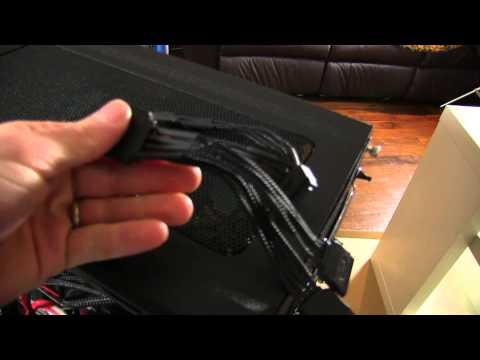 Phobya Sleeved Cables Unboxing & Overview