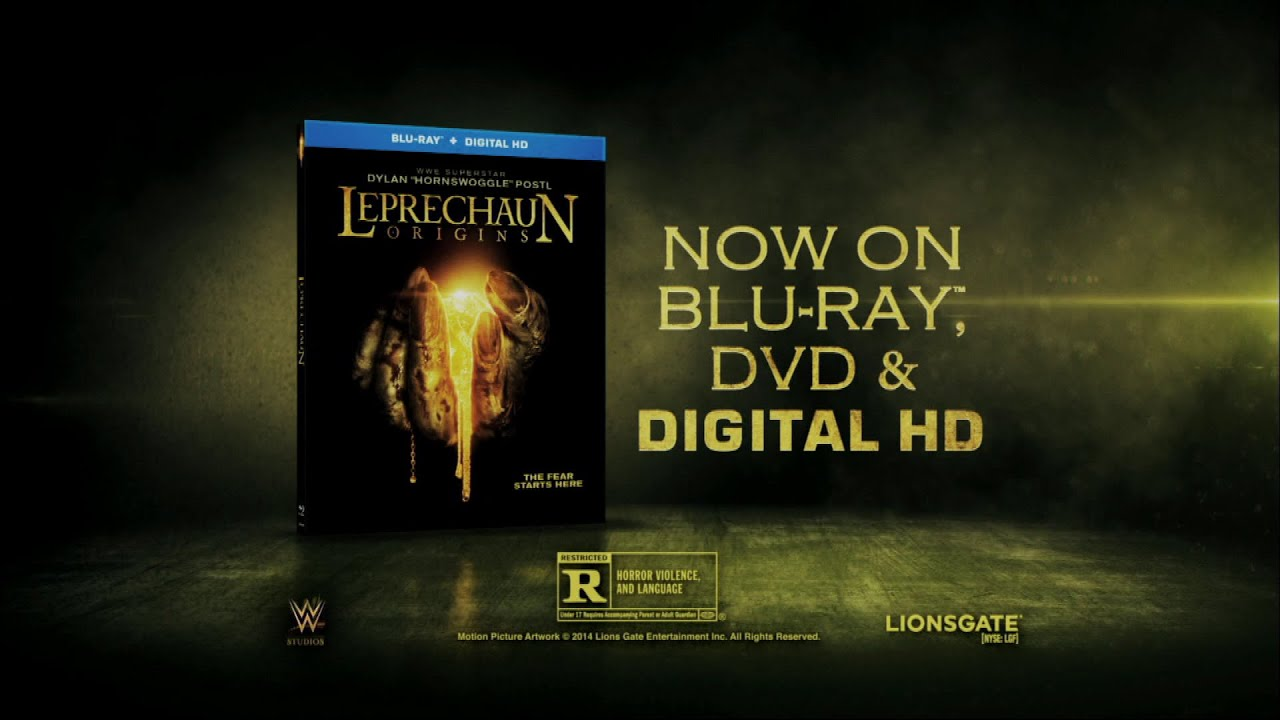 """Download """"Leprechaun: Origins"""" is available now on DVD, Blu-ray, Digital HD and Digital Download"""