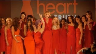 Sizzling red dresses kick off Fashion Week - New York Post