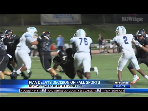 PIAA Votes To Take Two Week Delay On Fall Sports Decision