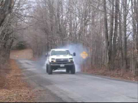 2008 Chevy Silverado Lifted >> lifted chevy silverado lbz duramax diesel burnout - YouTube