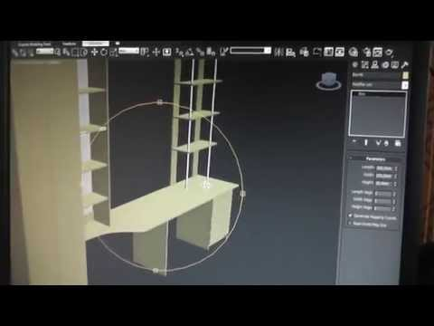 программа 3d Max проектирование мебели