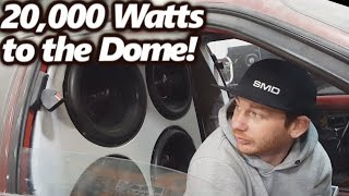 20,000 Watts to the Dome! Violent SPL BASS