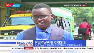 Pumwani understaffed after several health workers tested positive for COVID-19