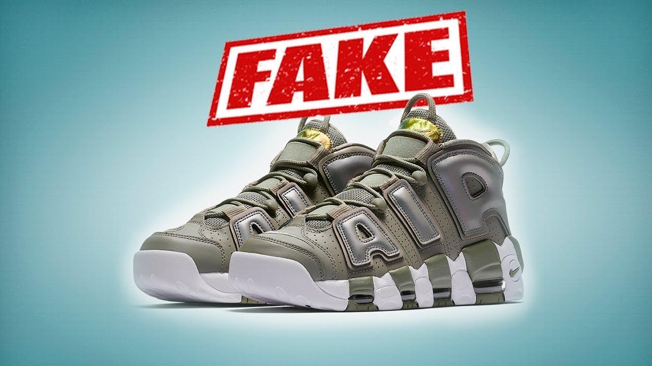 8e5dac65 Кроссовки Nike Air More Uptempo: как отличить подделку от оригинала ...