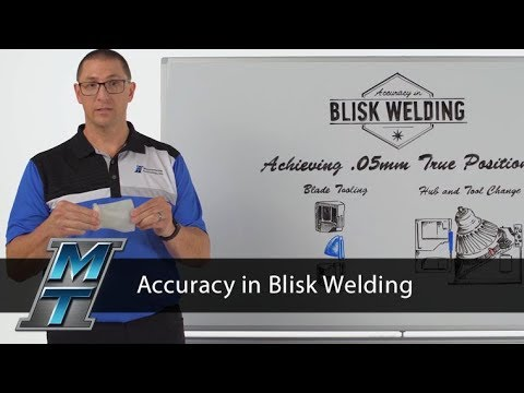 MTI Whiteboard Wednesdays: Accuracy in Blisk Welding