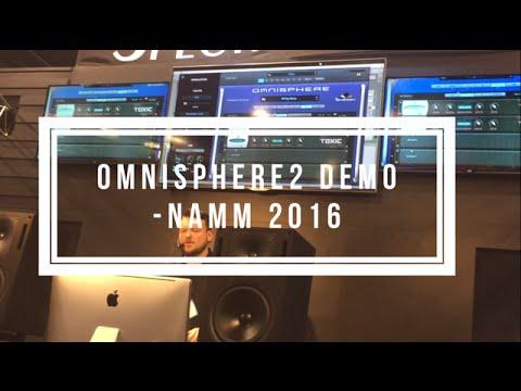 Omnisphere 2 Demo NAMM 2016 Spectrasonics Booth