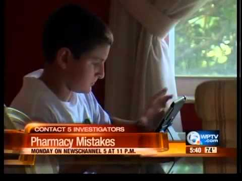 Contact 5: Pharmacy mistakes