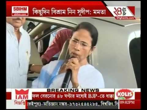 CM Mamata Banerjee is worried about the health issues of Sudip Bandhyopadhyay