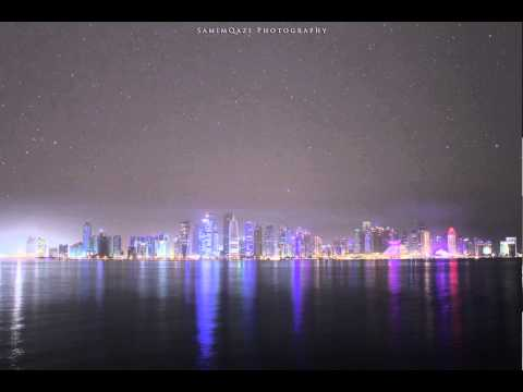 Doha Qatar Skyline Time Lapse by Samim Qazi