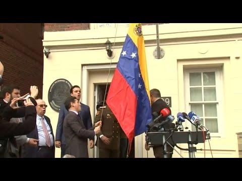 Venezolanische Opposition übernimmt Vertretungen in Washington und New York