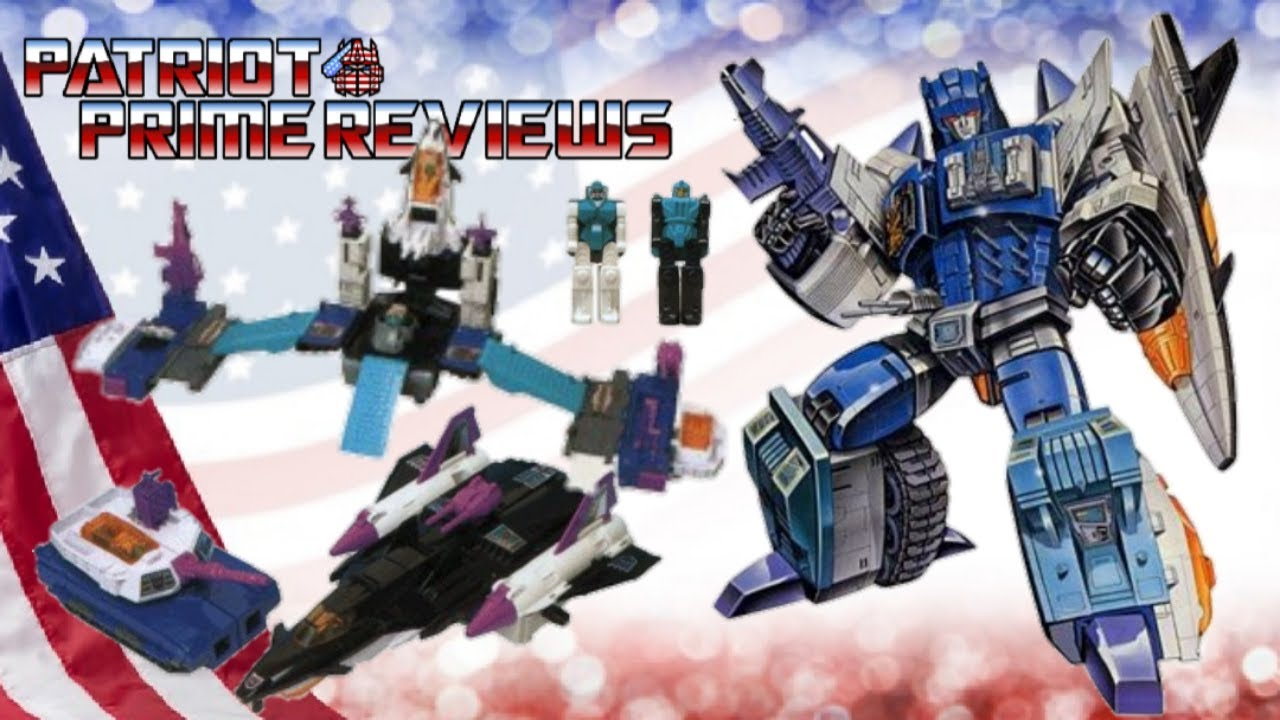 Patriot Prime Reviews 1988 G1 Overlord!