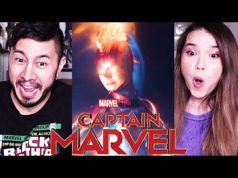 CAPTAIN MARVEL | Trailer #2 | Reaction!