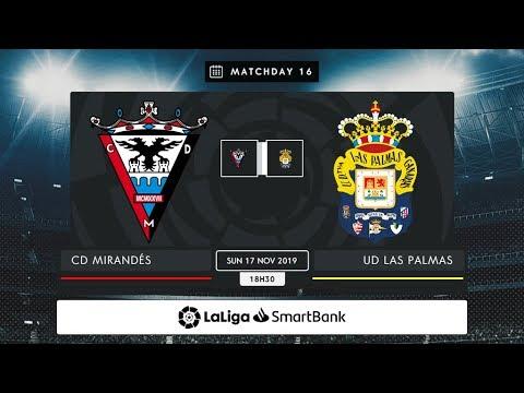 CD Mirandés - UD Las Palmas MD16 D1830