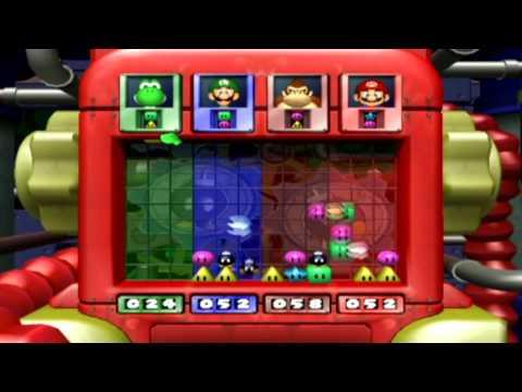 Mario Party 4 Mini Games - Bob-omb Breakers