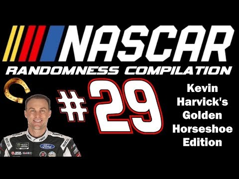 NASCAR Randomness Compilation #29 (Kevin Harvick's Golden Horseshoe Edition)