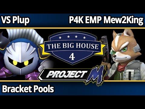 TBH4 PM - VS Plup (MK) vs P4K EMP Mew2King (Fox) - Bracket Pools