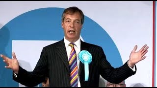 Farage: Time to put aside traditional issues of Left and Right - Brexit Party Rally, Pontefract