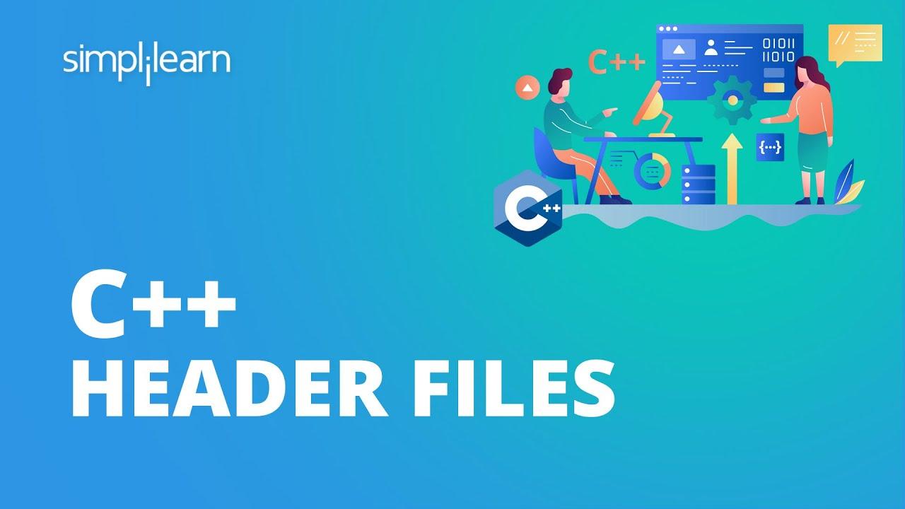 C++ Header Files   Header Files C++ Programming   What Are Header Files?   C++ Tutorial