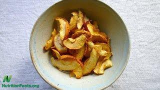 Sušená jablka vs. cholesterol