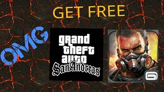 Get GTA SANANDREAS And MODREN COMBAT 4 FOR FREE No Root
