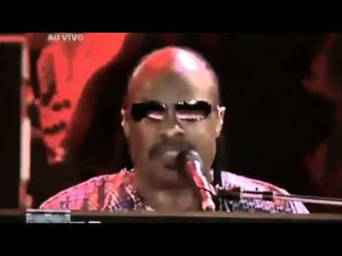 STEVIE WONDER - YOU ARE THE  SUNSHINE OF MY LIFE - LIVE IN BRAZIL 2011 (HQ-856X480)