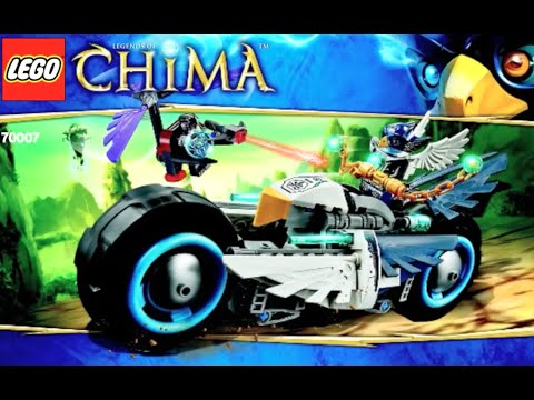 How To Build Lego Legends Of Chima 70007 Eglors Twin Bike
