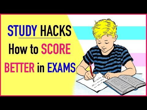 STUDY HACKS - How To SCORE Better in EXAMS | #Students #StudyTips #ABetterLife