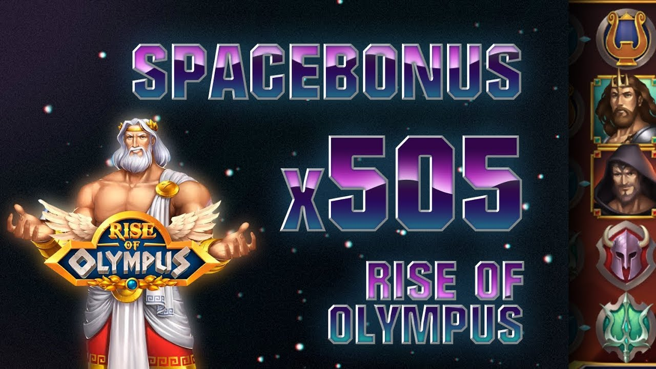 Сегодня мы покажем слот Rise of Olympus от провайдера Play