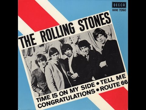 """""""ROUTE 66""""  THE ROLLING STONES  DECCA EP SDE 7260 P.1964 SWE"""