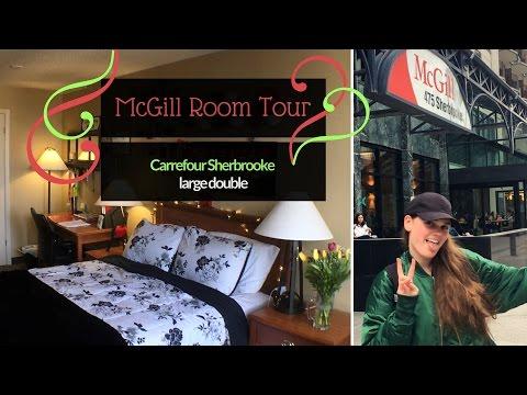 McGill Rez Room Tour | Carrefour Large Double