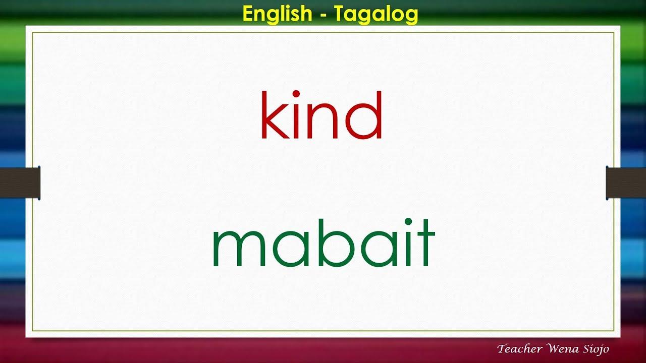 75 English Tagalog Dictionary # 72 ...