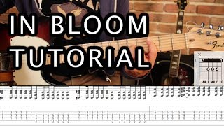 Nirvana - In Bloom Tutorial Guitarra PARTE 1 // GUITAR LESSON (HD)