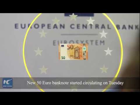 What does new 50 Euro banknote look like?