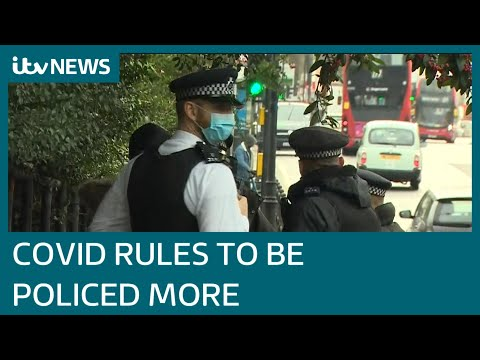 Home Secretary backs stricter enforcement on Covid rules | I