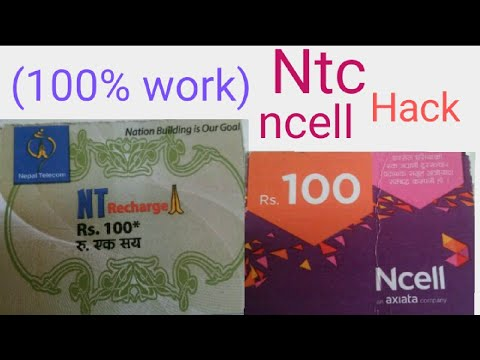 (100%work) how to hack ntc and ncell recharge card step by step