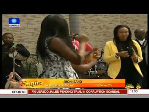 Sunrise: Eboni Band Gets Channels TV Staff Grooving 26/12/15