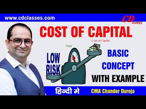 Cost of Capital class 1 - Part 1