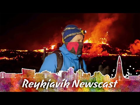 RVK Newscast #93: An Incredible Lava Flow Break Out Of The Mountain & Melt The Snowy Ground
