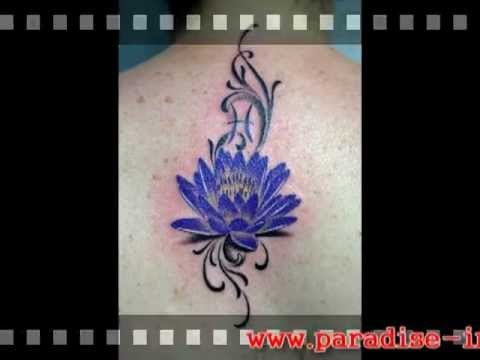 Paradise Ink Tattoo Bali Blue Water Lilympg Youtube